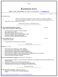 28 format of latest resume resume format 2016 12 free to