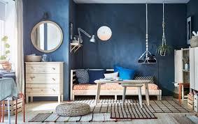 chambre bleu et déco chambre bleu calmante et relaxante en 47 idées design