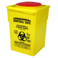 sharps disposal safe container 1 7l officeworks