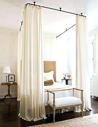 canopy curtains for beds bed with curtains rroom me