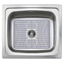 kitchen sinks apron sink mats with drain hole single bowl