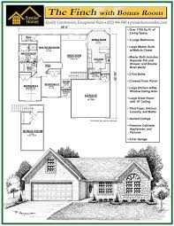 5 bedroom house plans with bonus room finch with bonus room floor plan