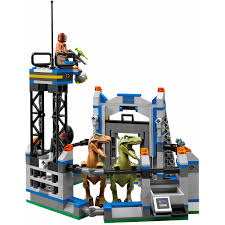 jurassic world jeep toy lego jurassic world raptor escape play set walmart com