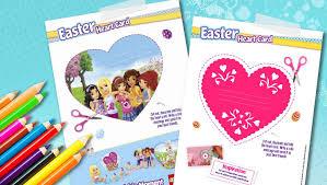 heart card explore lego friends lego com friends lego com