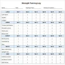 Best Free Excel Templates Workout Schedule Template Here S The Best Free Workout Log