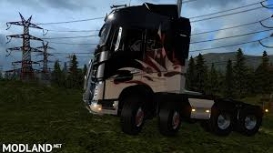volvo 2013 truck volvo fh16 8x8 2013 monstrik mod for ets 2