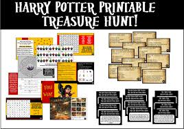 printable harry potter trivia treasure hunt you decide the