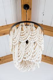 bead chandelier white chandelier pottery barn editonline us