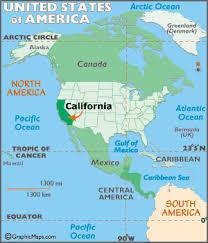 california map geography of california map of california