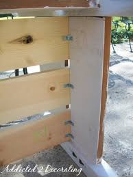 Wood Head And Footboards Bench Made From A Headboard And Footboard