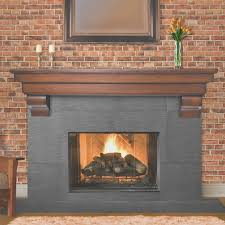 fireplace how to attach a mantel to a brick fireplace designs
