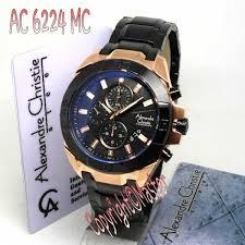 Jam Tangan Alexandre Christie Terbaru Pria jam tangan alexandre christie ac6224 black gold masterarloji