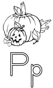 free alphabet coloring pages pumpkin alphabet coloring pages of