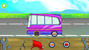learning transport for kids vehicles for toddlers android apps
