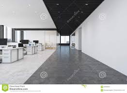open office loft front view stock illustration image 94930207