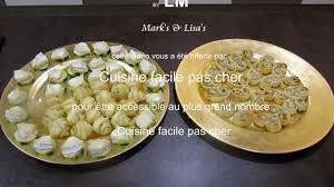 cuisine facile pas cher 3 idées apero par cuisine facile pas cher