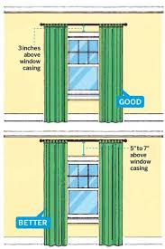 Hang Curtain From Ceiling Decorating 11 Foolproof Decorating Tips Hang Curtains Ceilings And