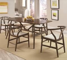 kersey 5 piece dining set with mid century modern legs quality