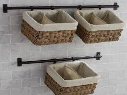 Hanging Baskets For Bathroom Storage Pin By Chris Zart Larson On Back Bathroom Pinterest