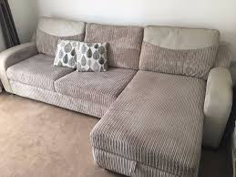 Dfs Sofa Bed Glee From Dfs Grey Fabric Corner Sofa Bed Excellent Condition