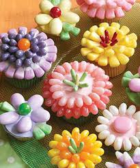 cupcake flowers flowers cupcakes recipe jelly belly candy company