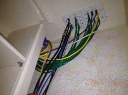 home network closet design server and storage closet electrical communications network cable