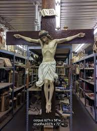 large crucifix crucifix corpus used church items