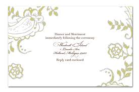Marriage Invitation Sample Invitation Templates