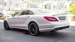 mercedes cls 63 amg mercedes cls 63 amg 4matic tested by autoevolution