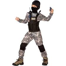 Sniper Halloween Costume Navy Seal Child Halloween Costume Walmart