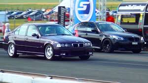 Bmw M3 V10 - bmw m5 e60 vs bmw m3 e36 drag race 1 4 mile beschleunigungsrennen