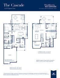 Watermark Floor Plan Villas At Watermark New 3br 3 5bath Home Duplex Side By Side