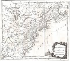 Northeast Georgia Map 1790 To 94 Pennsylvania Maps