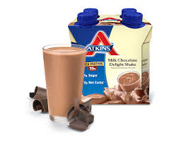 milk chocolate delight shake atkins