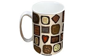 jayne chocolates limited edition designer mug and coaster gift set