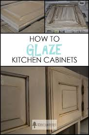 Antique White Kitchen Cabinets Picture How To Change The Look Of Best 25 Glazed Kitchen Cabinets Ideas On Pinterest Cost To Redo