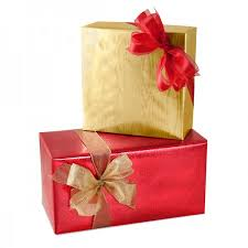 gift wrap foil solids and prints box and wrap