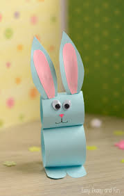 Easter Decorations For Cheap by Paper Bunny Craft Easy Easter Craft For Kids Bunny Crafts
