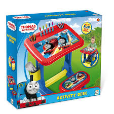 thomas the train activity table and chairs thomas friends thc001 kids activity art colouring desk table set