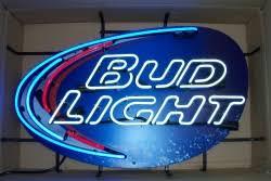 bud light neon light bud light splash neon beer bar sign