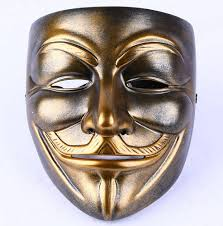 Guy Fawkes Mask Halloween by Buy V For Vendetta Guy Fawkes Masquerade Mask