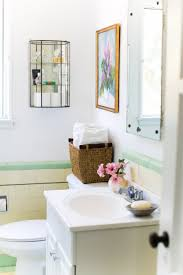 Design A Small Bathroom 7 Clever Ways To Add Storage To A Small Bathroom Apartment Therapy