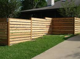 wood fences gallery viking fence horizontal semi privacy fence
