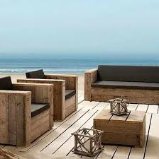 Wood Patio Chairs Wood Patio Furniture With Cushions 19 Extraordinary Patio