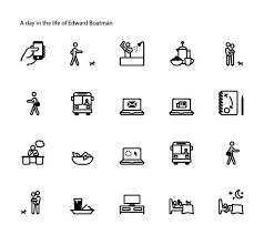 in design class illustrate your day an intro to symbol design edward boatman