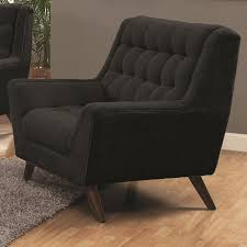 Montebello Collection Furniture Natalia Black Fabric Chair Steal A Sofa Furniture Outlet Los