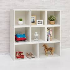 White Modular Bookcase by Home Decorators Collection Louis Philippe Modular Center Polar