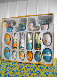 easter ornaments miniature easter ornaments boxed set mini by luckylenorevintage