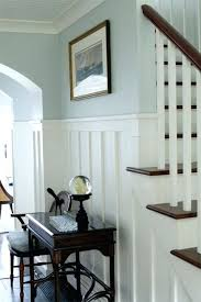 best chair railing ideas on two tone walls molding in bathroom