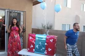 gender reveal balloons in a box 38 creative gender reveal ideas